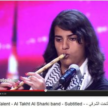 Arabs Got Talent - Al Takht Al Sharki band - Subtitled - فلسطين - التخت الشرقي - مترجم