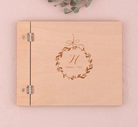 Un livre d'or personnalisé pour votre mariage