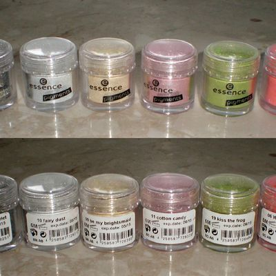 Colour Arts LE - essence Pigmente Swatches !