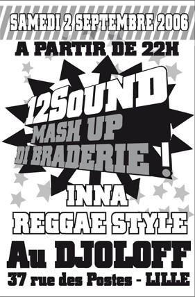 Les flyers reggae de septembre 2006