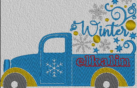 "Camion ""Winter"""
