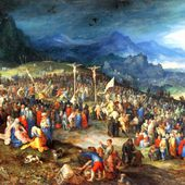 Jan Brueghel de Velours - Le Mont calvaire - LANKAART