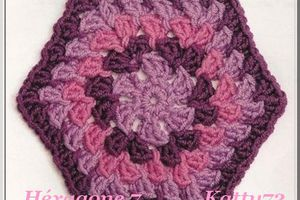 Crochet : Hexagone 7 & 8