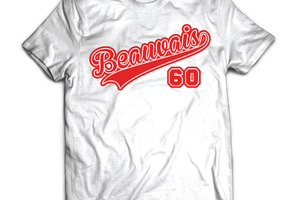 T-shirt: France - Picardie - Beauvais 60.