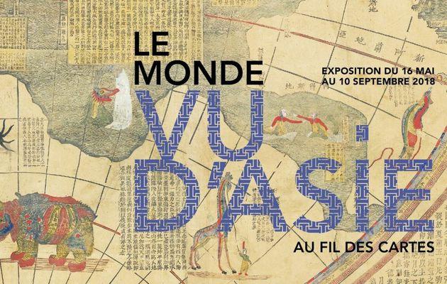 Le monde vu d'Asie, une exposition du musée Guimet à voir jusqu'au 10 septembre 2018