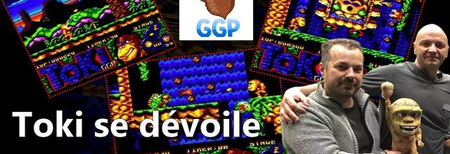Toki se dévoile sur Amstrad CPC avec la version Beta et son Premier Niveau du jeu