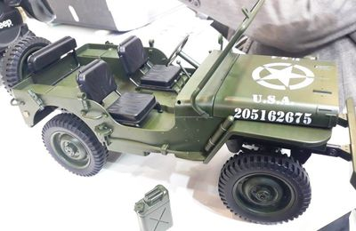 "Jeep RC ""DDay Normandy 44"" : 34cm"
