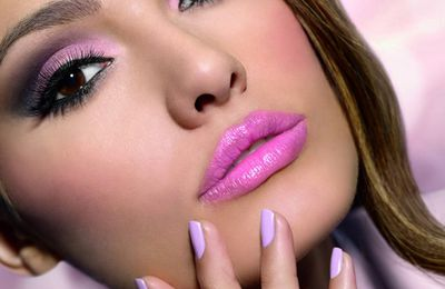 make up trend: Pastell