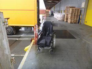 31 janvier 2018 - Collecte d'un fauteuil roulant