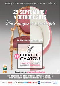 Chatou : Foire à la Brocante en ce moment