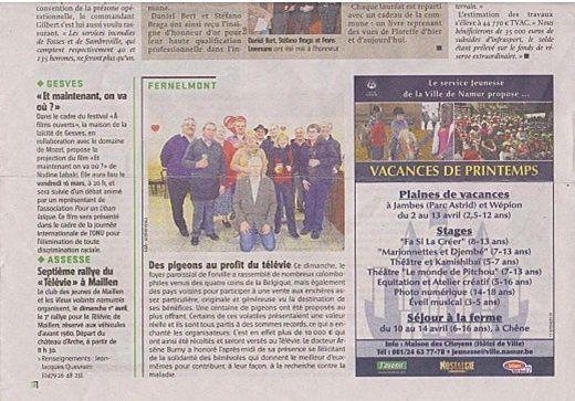 Album - Télévie, 26-02-2012