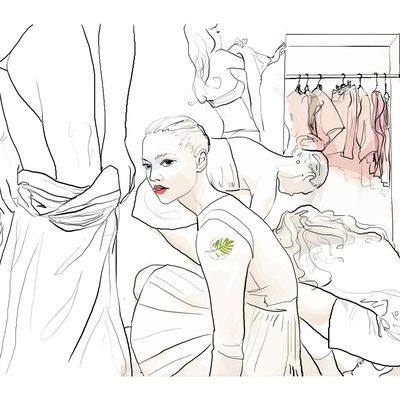 Sabine Breynaert illustrations - Allure Factory