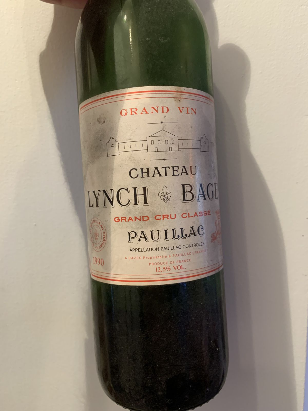 Pauillac Lynch bages 1990