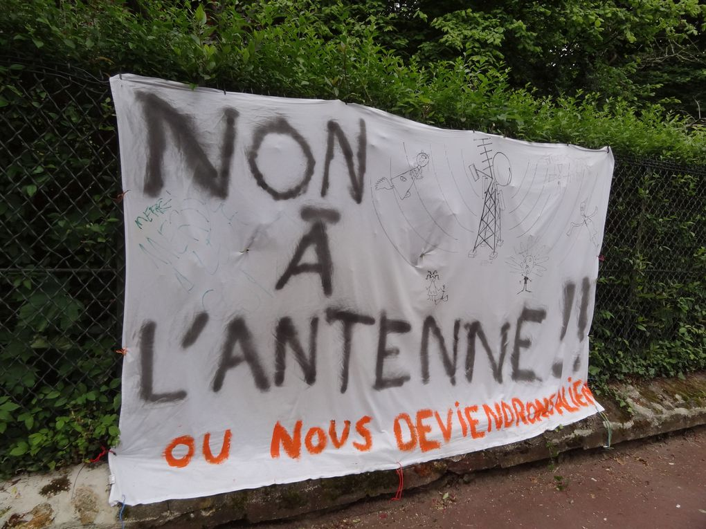 Collectif contre l'implantation de l'antenne GSM Rail