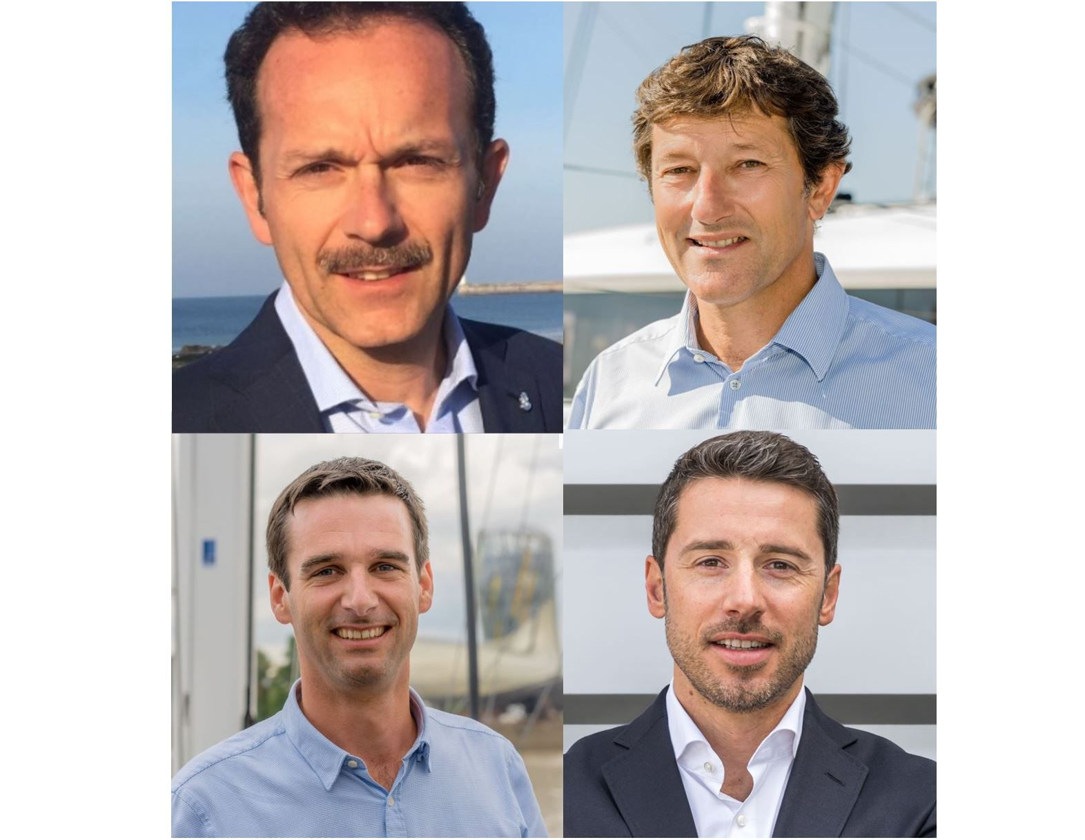 From left to right and top to bottom: Luca Brancaleon, Yann Masselot, Thomas Gailly and Clément Himily