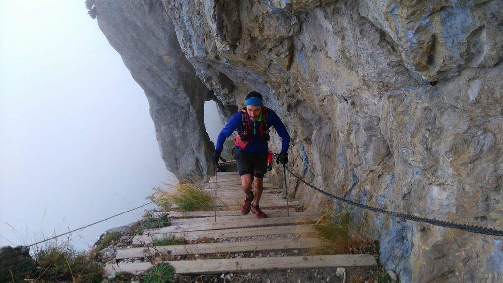2016 10 02 Trail des Glières  - Du haut des lapiaz