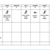 Entrainements Marathon d'Athènes Semaine 4