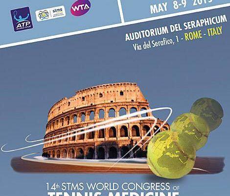 INDIBA activ a participé au 14ème congrès mondial STMS (Society for Tennis Medicine and Science) à Rome