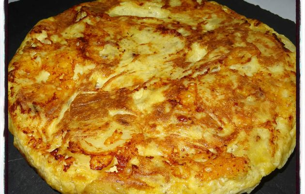 Tortilla pommes de terre raclette