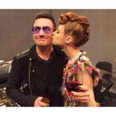 Bono et Kiesza -MTV EMA (09/11/2014) - U2 BLOG