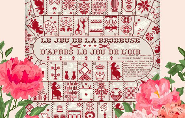 """SAL """"JEU DE LA BRODEUSE"""" DE JL. GRANDSIRE - 4ÈME OBJECTIF TERMINE - 1 NOUVELLE PHOTO"""