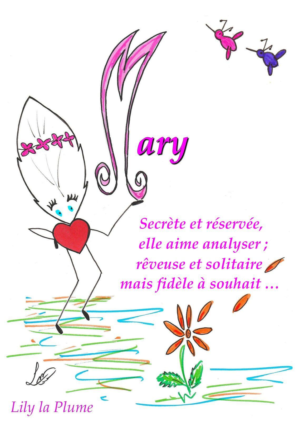 Mary    anglais,français