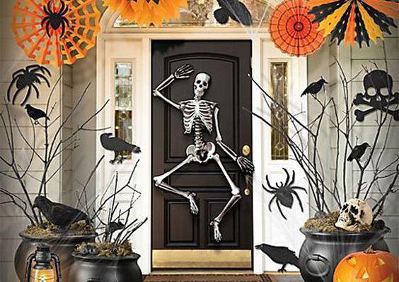 Halloween : Comment décorer ma porte d'entrée ?
