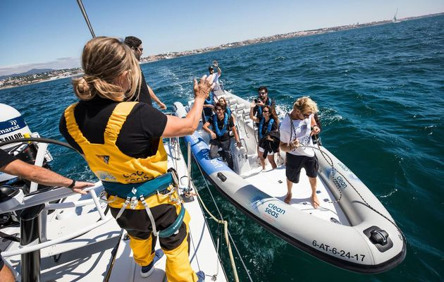 Volvo Penta's next generation gasoline engines power RIBs in the Volvo Ocean Race