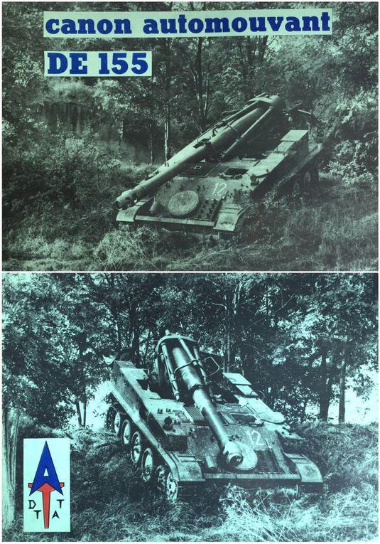 AMX13 - documentations publicitaires de la famille