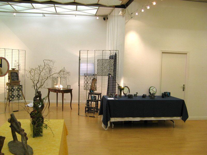 Le 13 février 2009 à la salle d'exposition de la Mairie de Carnac