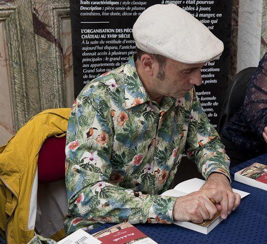 Jean-Pierre BROUILLAUD, écrivain voyageur aveugle et aussi... conférencier