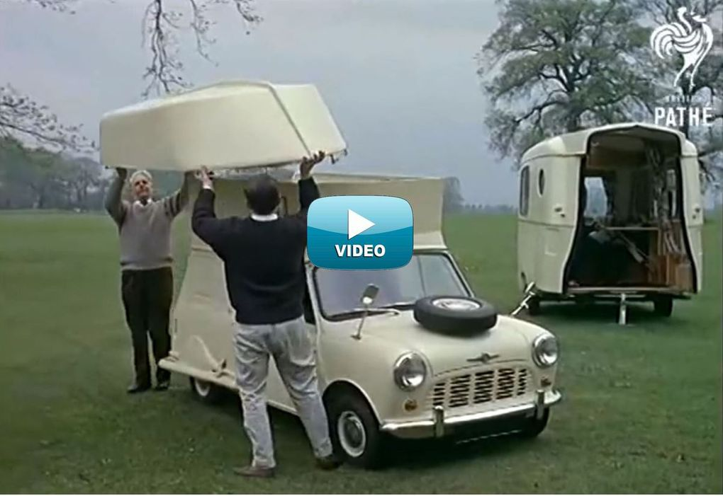 VIDEO - amazing Mini Caraboat, car, camper and boat ... all at once!
