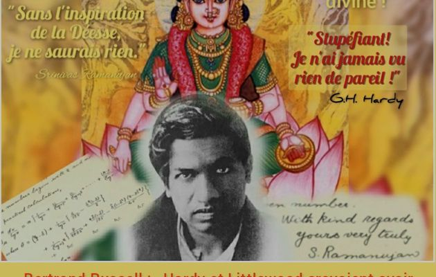 Un savant hindou inclassable et génial, Srinivasa Ramanujan