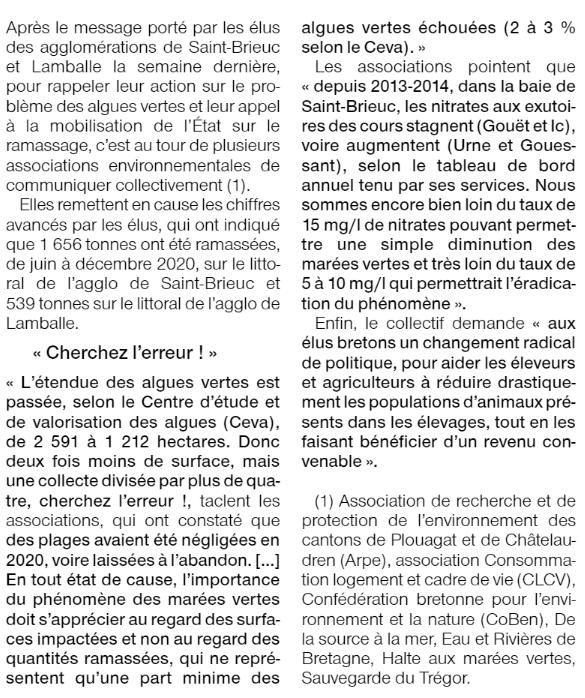 Aux élus bretons de se mobiliser