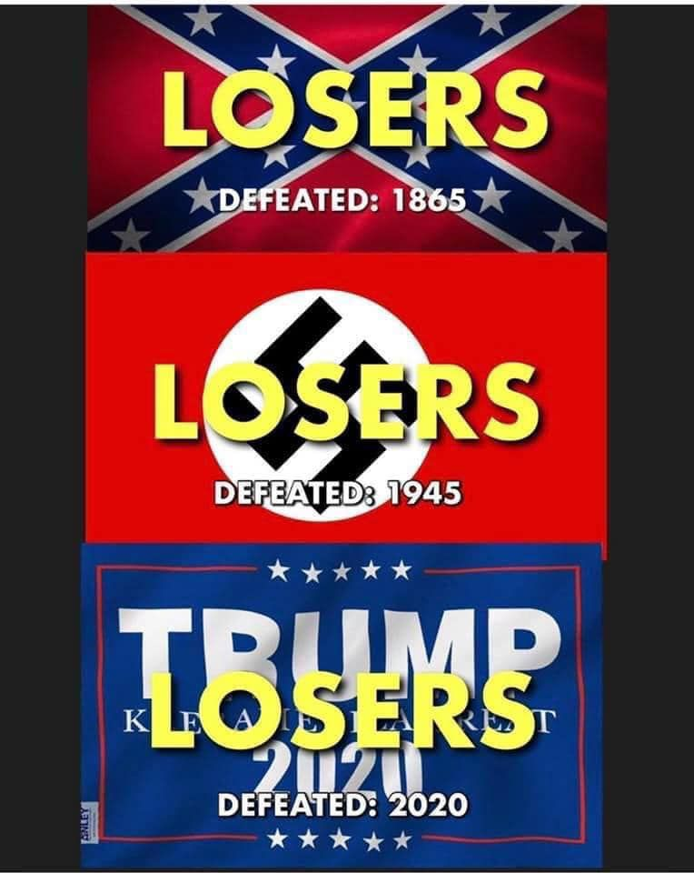 Trump is now an official loser