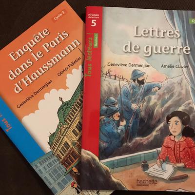Lecture suivie en Histoire : Petits livrets chez hachette éducation