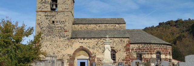 L'Église Saint-André de Prades. Prades (3) / Balade en Haute-Loire