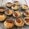 Muffins amandes Dulcey