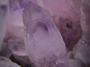Amethyst with Pyrite from Chala Mine, Bulgaria (size: Museum)