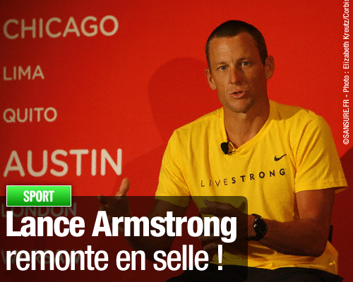 Lance Armstrong remonte en selle !