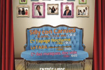6ème édition du festival de théâtre « Silly sur Scène » : du 30 avril au 18 mai 2019