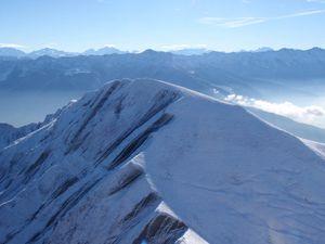 Mont Pécloz: Les 3 Arces par les arêtes (1/2)