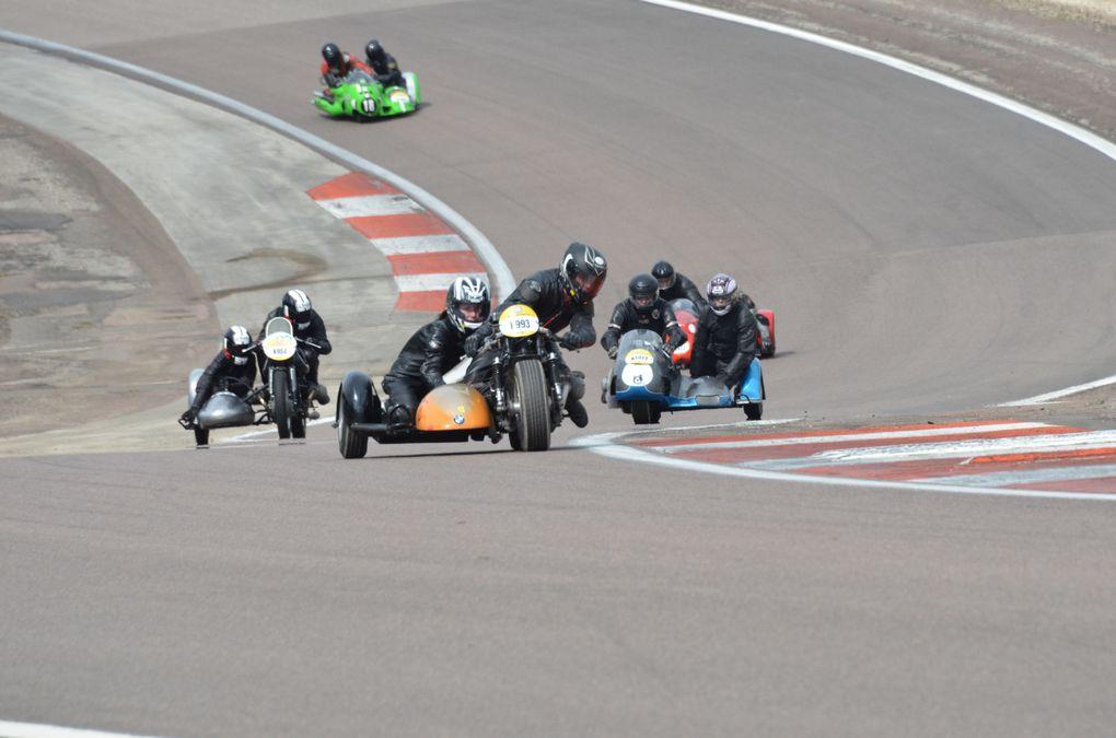 Coupes Moto-Legende 2013  Dijon Prenois Démonstration piste sides