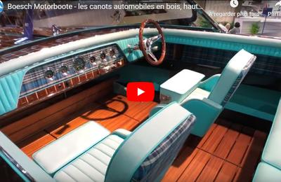 Boesch Motorboote - les canots automobiles en bois, haute technologie