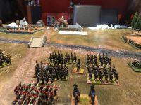 Les francais se positionnent et on peut voir 4 Bras fortifié