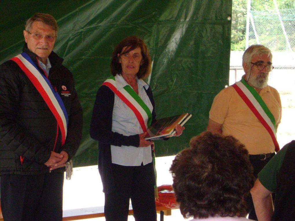 Quatre communes rassemblées pour Rochemelon