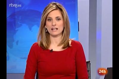 2012 01 11 @06H45 - ANA ROLDAN, TVE 24H, TELEDIARIO MATINAL