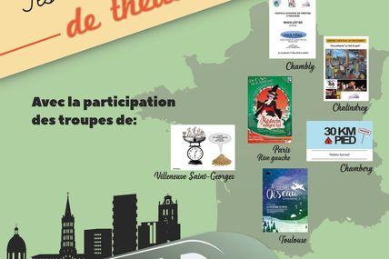 Festival national de théâtre à Toulouse du 17 au 20 mai 2018