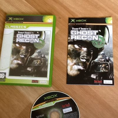 GHOST RECON XBOX COMPLET
