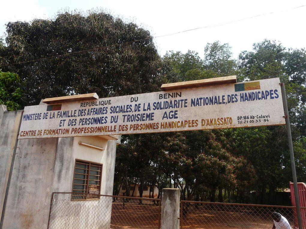 Le Centre de Formation Professionnelle pour Adultes Handicapés d'Akassato